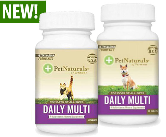 Pet Naturals® Daily Multi Tablets
