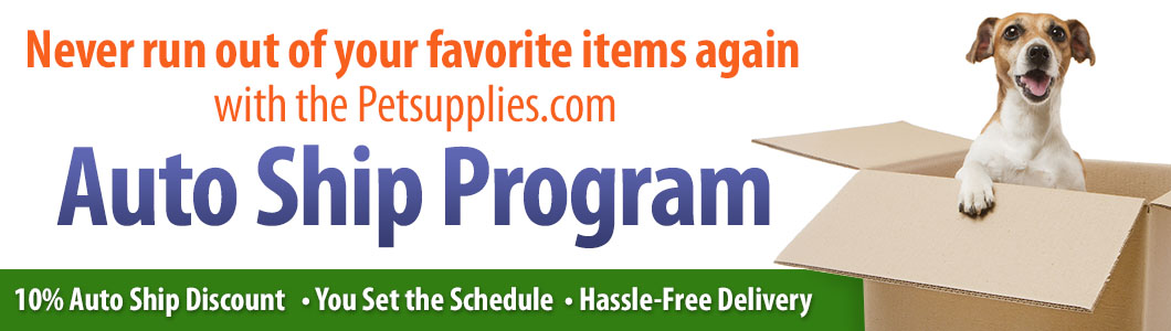 Never run out of your favorite items again! Your benefits include a 15% Auto Ship discount, hassle-free delivery, items delivered on your schedule, never running out of your favorite items again!