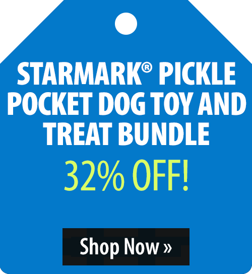 Starmark® Pickle Pocket Dog Toy and Treat Bundle