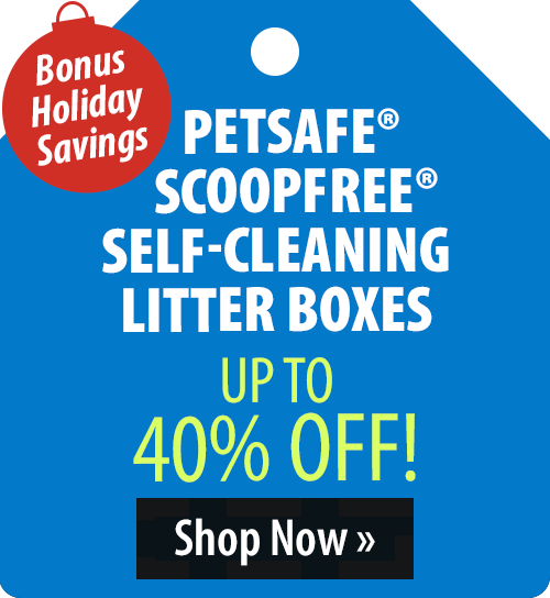PetSafe® ScoopFree® Self-Cleaning Litter Boxes