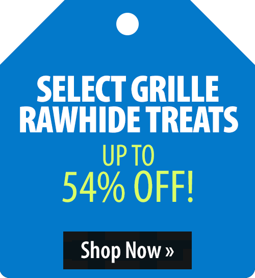 Select Grille Rawhide Treats