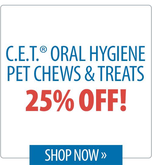 C.E.T.® Oral Hygeine Pet Chews & Treats