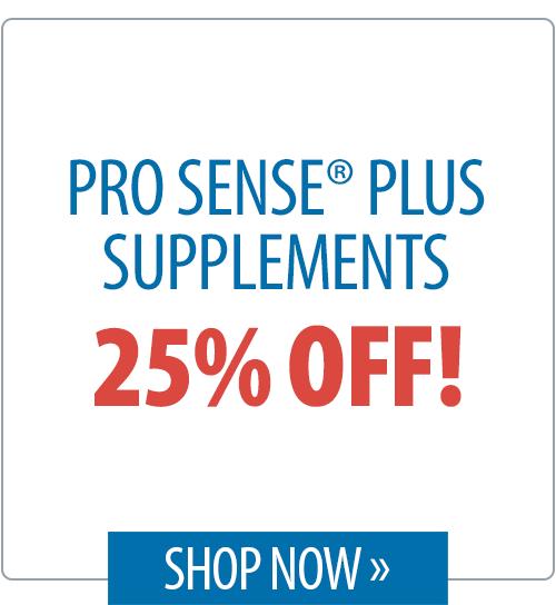 Pro Sense® Plus Supplements