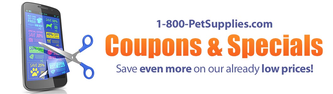 Official 1800PetSupplies.com Coupons and Specials