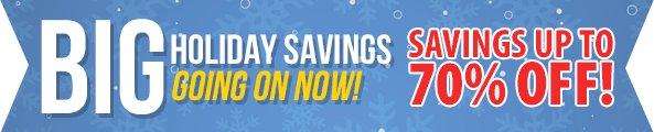 Bonus Holiday Savings!