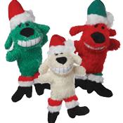 Multipet Loofa® Santa Dog Toy